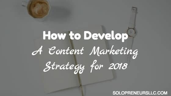 Content Marketing Strategy for 2018