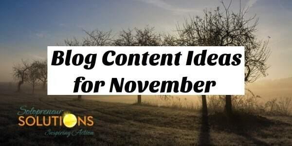 blog content for november