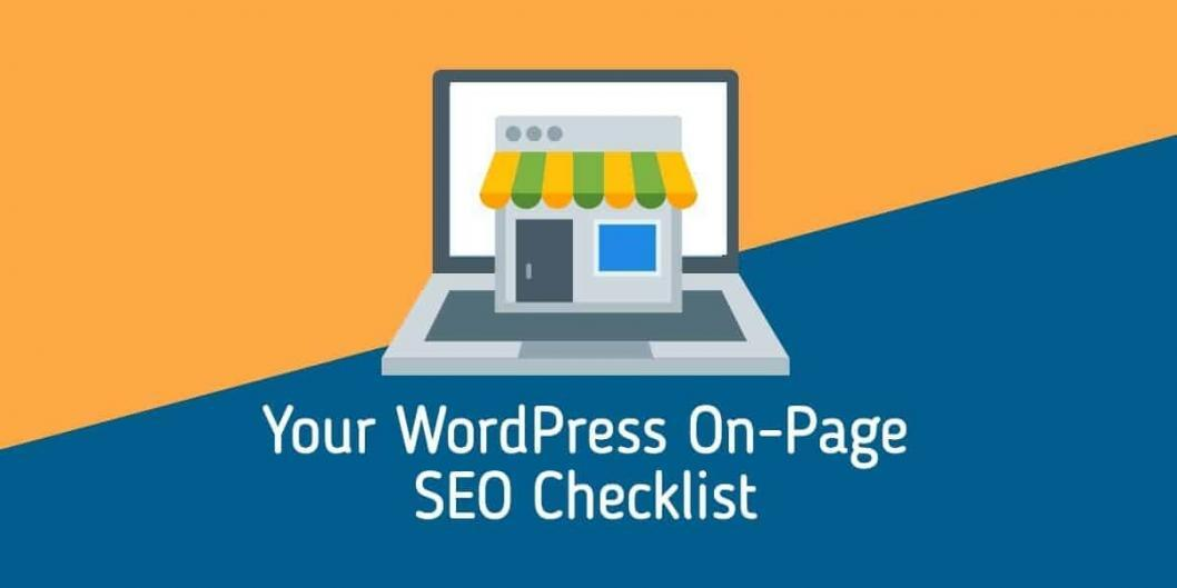 your wordpress on page seo