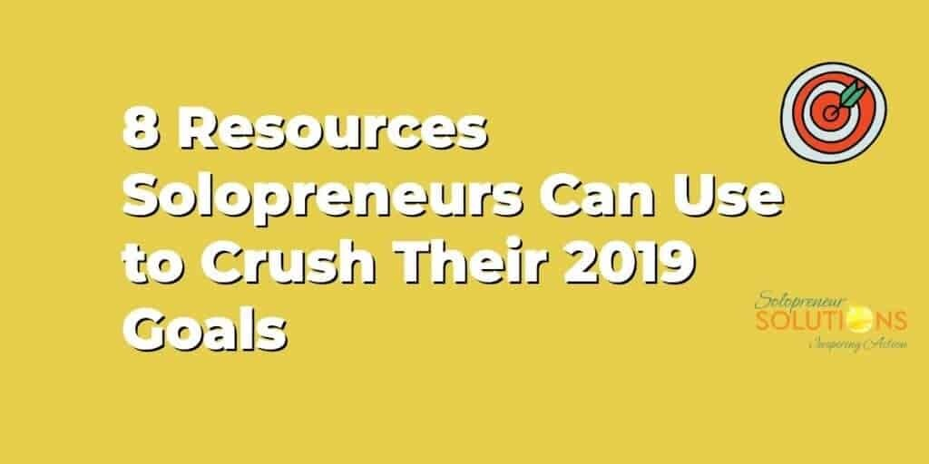 8 resources for solopremeurs