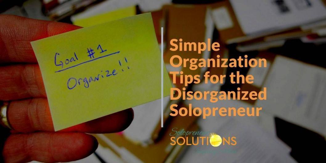 organized solopreneur