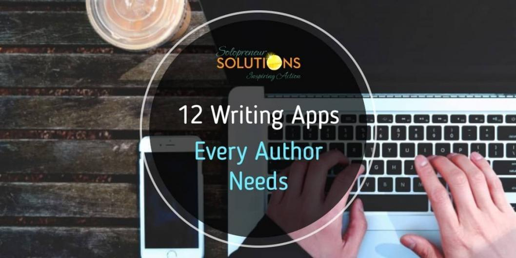 12 Writing Apps Every Author Needs