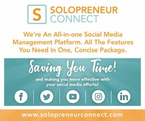 Solopreneur Connect Ad